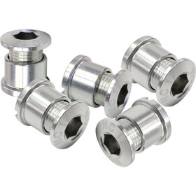 NC-17 Chainring bolt 4 and 5 hole BCD silver